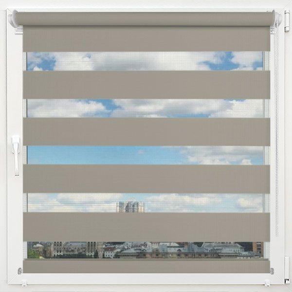 Ролеты на окна День-Ночь Мокко